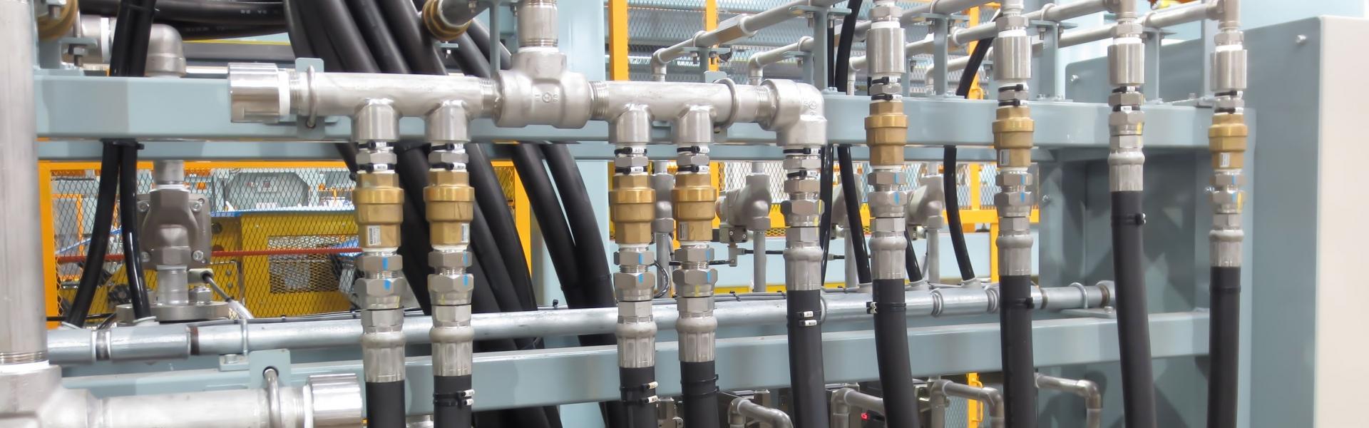 Opravy hydraulického vedení